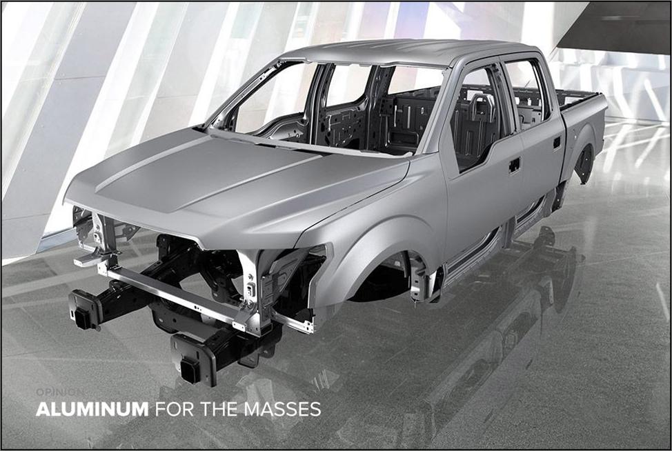 F150 Aluminum body